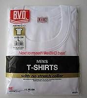【BVD】 ゴールド(GOLD) 丸首半袖Tシャツ 3枚セット G013 (L)
