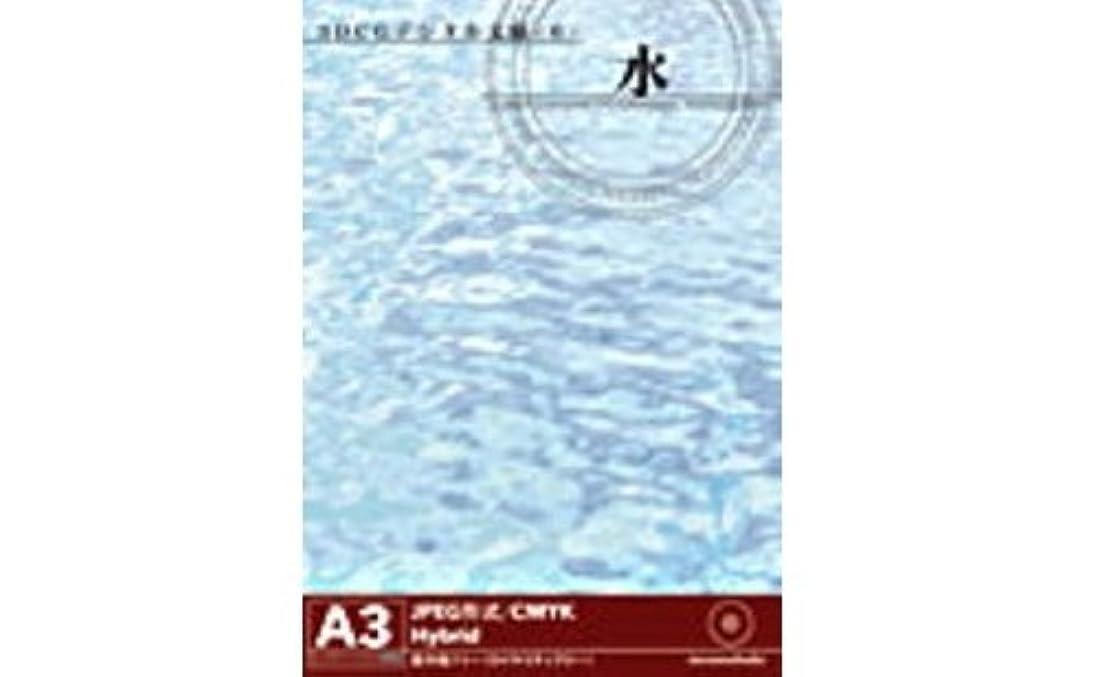 成功した熟読アート3DCGデジタル文様 6 「水」