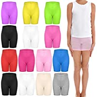 TUPARKA 14 Pieces Dance Shorts Girls Bike Short Breathable and Safety 12 Color