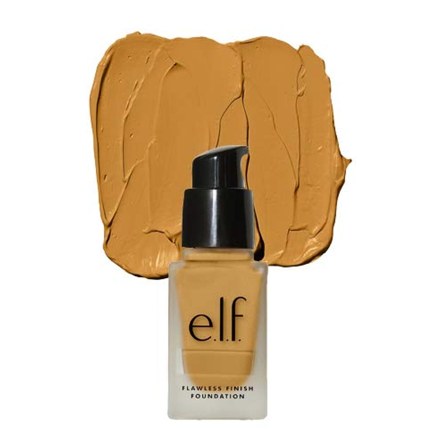 恐れるふさわしい賃金e.l.f. Oil Free Flawless Finish Foundation - Almond (並行輸入品)