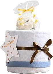 今治タオル imabari towel 出産祝い 日本製 オーガニック 1段 おむつケーキ