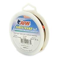 American釣りワイヤSurfstrand 1x 7ステンレススチールDownriggerワイヤ(標準アセンブリ)