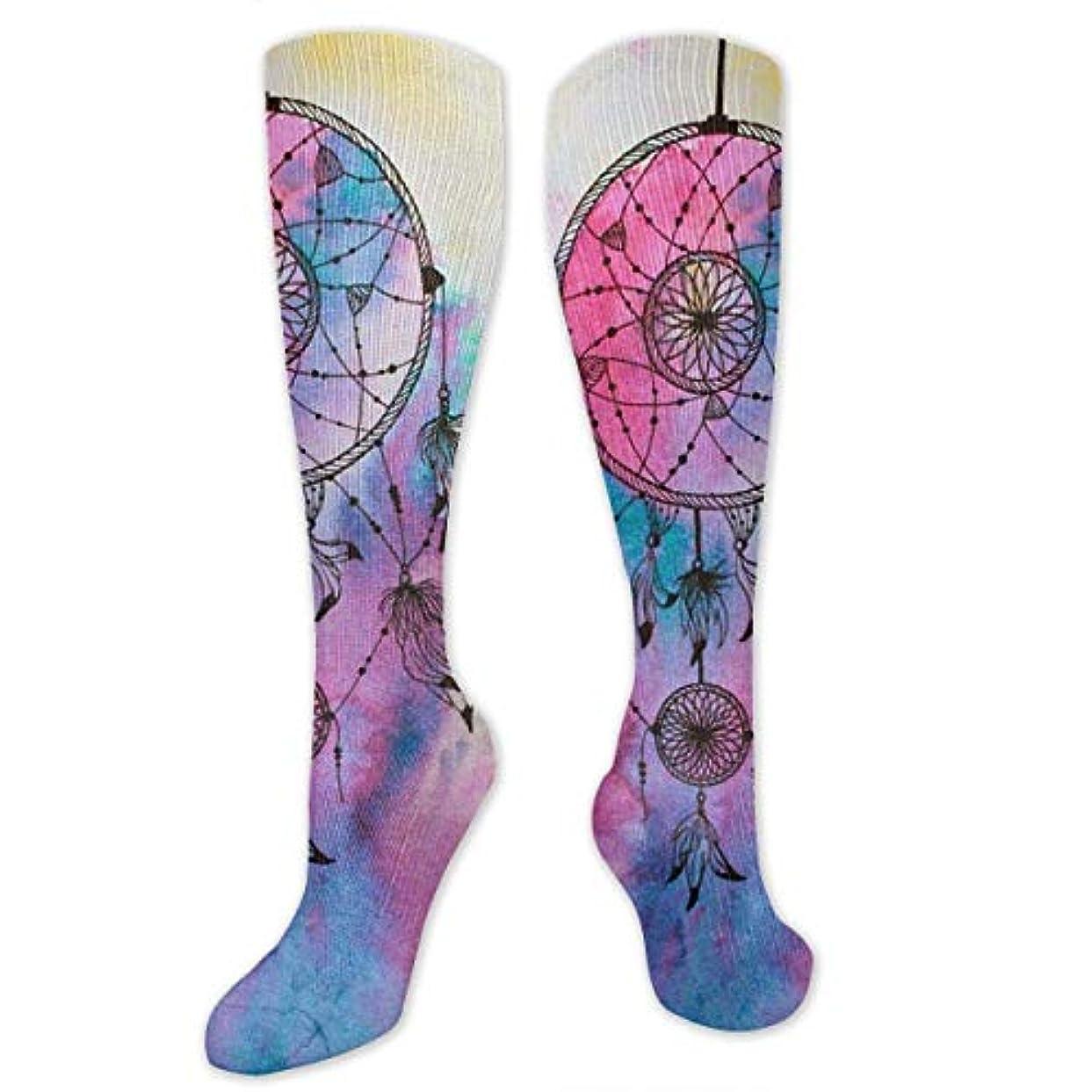責め付与インシデント靴下,ストッキング,野生のジョーカー,実際,秋の本質,冬必須,サマーウェア&RBXAA Beautiful Dream Catcher Socks Women's Winter Cotton Long Tube Socks...