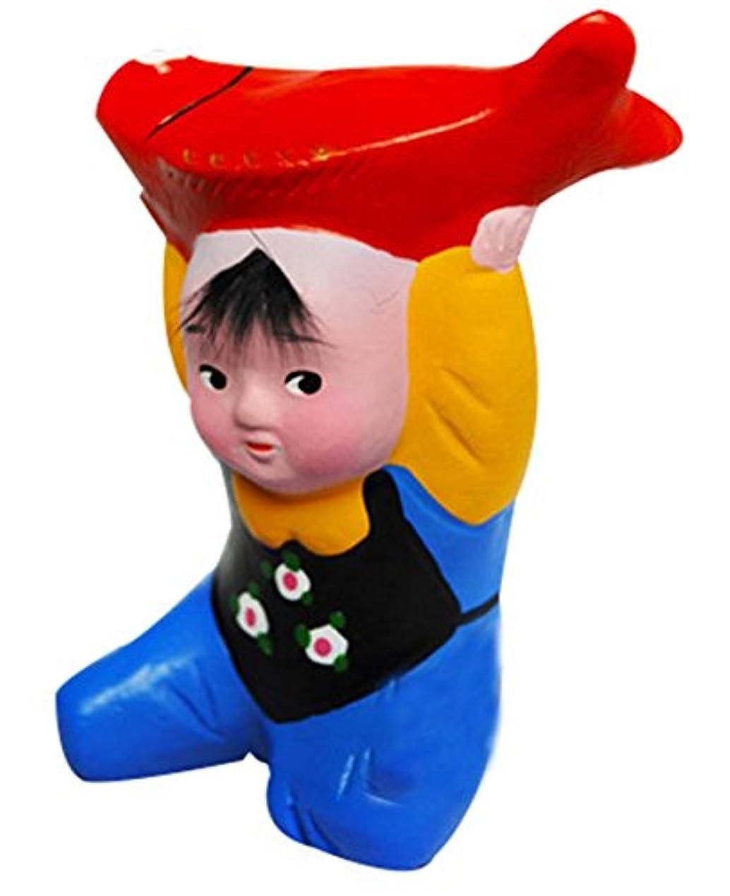 九月軽蔑するブルパーソナライズクレイホームデコレーション中国の粘土人形おもちゃ