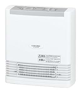 パナソニック セラミックファンヒーター コンパクト ホワイト DS-F1204-W