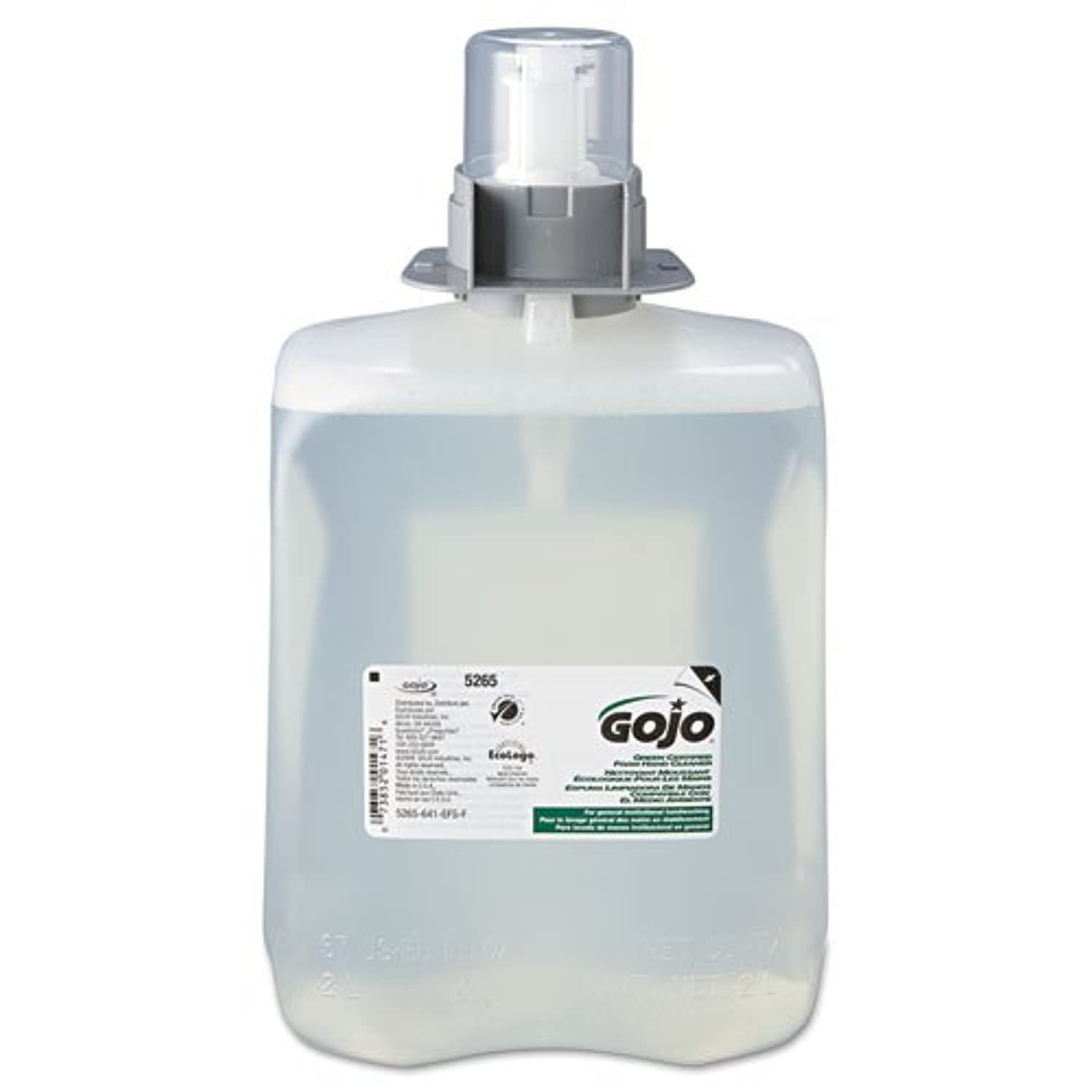 完全にかすれた破壊的なgoj526502 – グリーン認定Foam Hand Cleaner