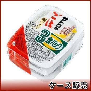 サトウ食品 サトウのごはん 銀シャリ 3食パック (200g×3食)×12個入