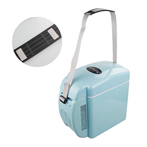 Elifejug 冷蔵庫 mini冷蔵庫 冷凍冷蔵庫 保冷保温両用 大容量 ジュースが置けて楽々使用 旅行 キャンプ BBQ ワインキャビネット 7L