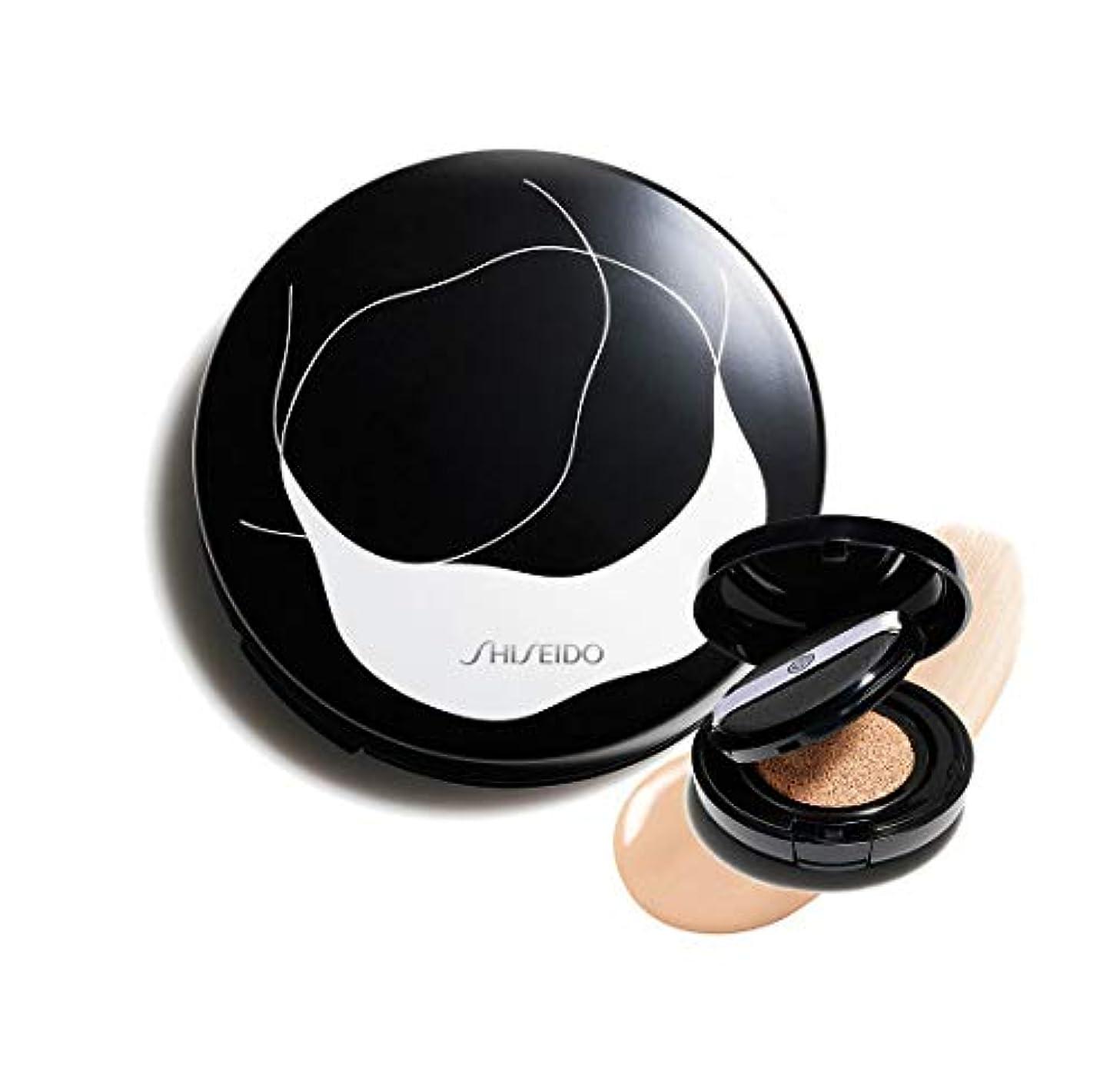 ライオンコンチネンタル制裁SHISEIDO 資生堂 シンクロスキン グロー クッションコンパクト オークル10 Golden 2 - レフィル&ケースのセット