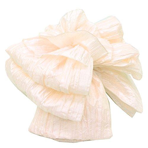 浴衣帯 選べる10色 兵児帯 シャーリング 光沢のある 華やかさ 三尺 パステル spo0788-e 1.生成り