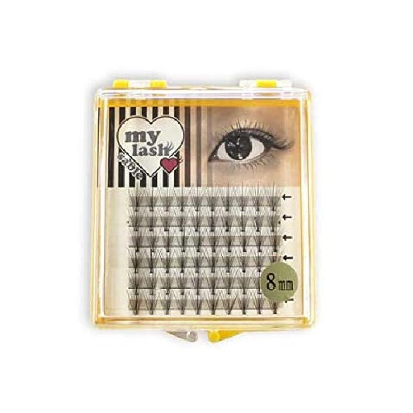 目を覚ますオープニングテンションまつげエクステ my lash 束エクステ 60束入 (7本束 12mm)
