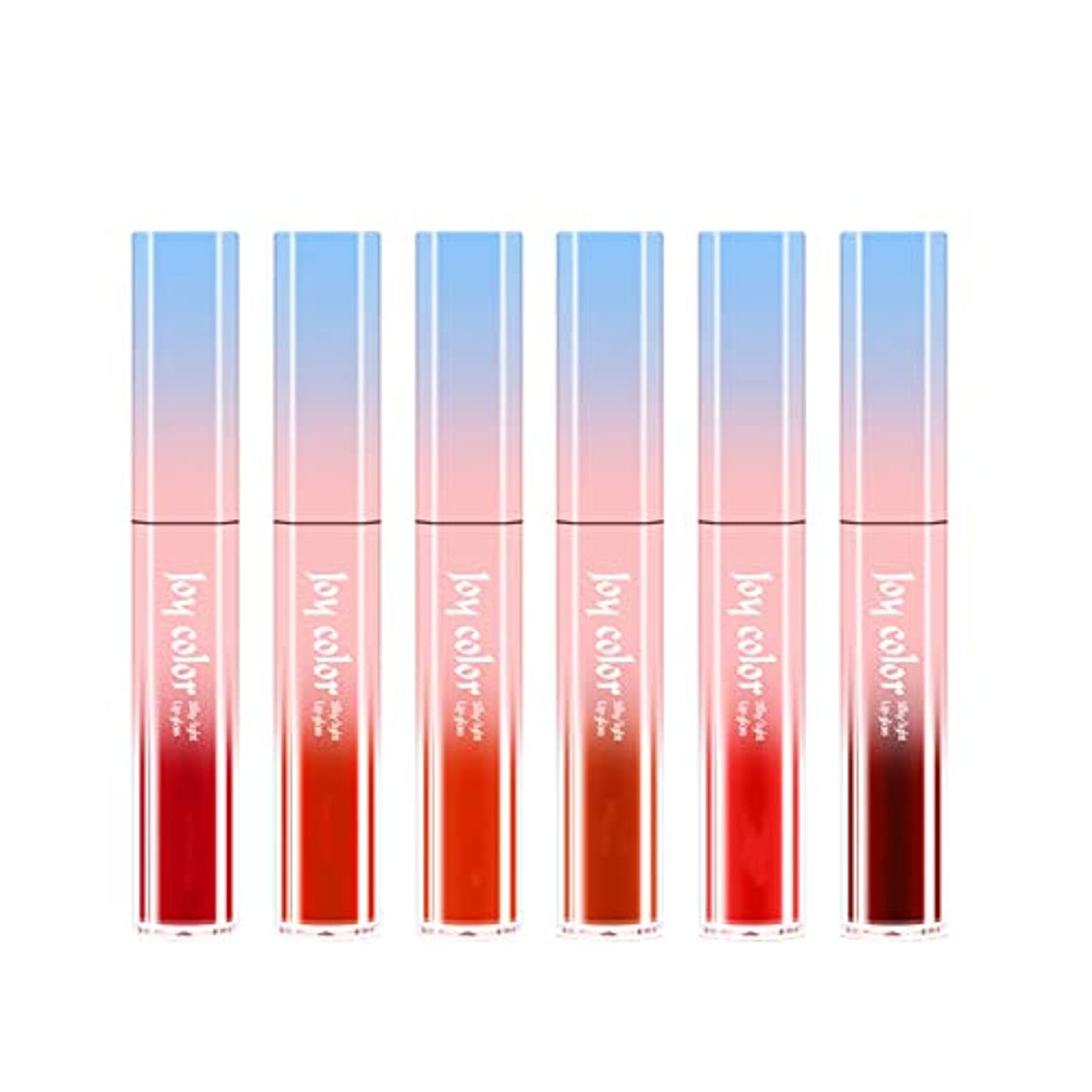 責めるセイはさておき枯れる6ロング防水液体口紅液体リップグロスビロードの光栄養水分化粧品スキンケア