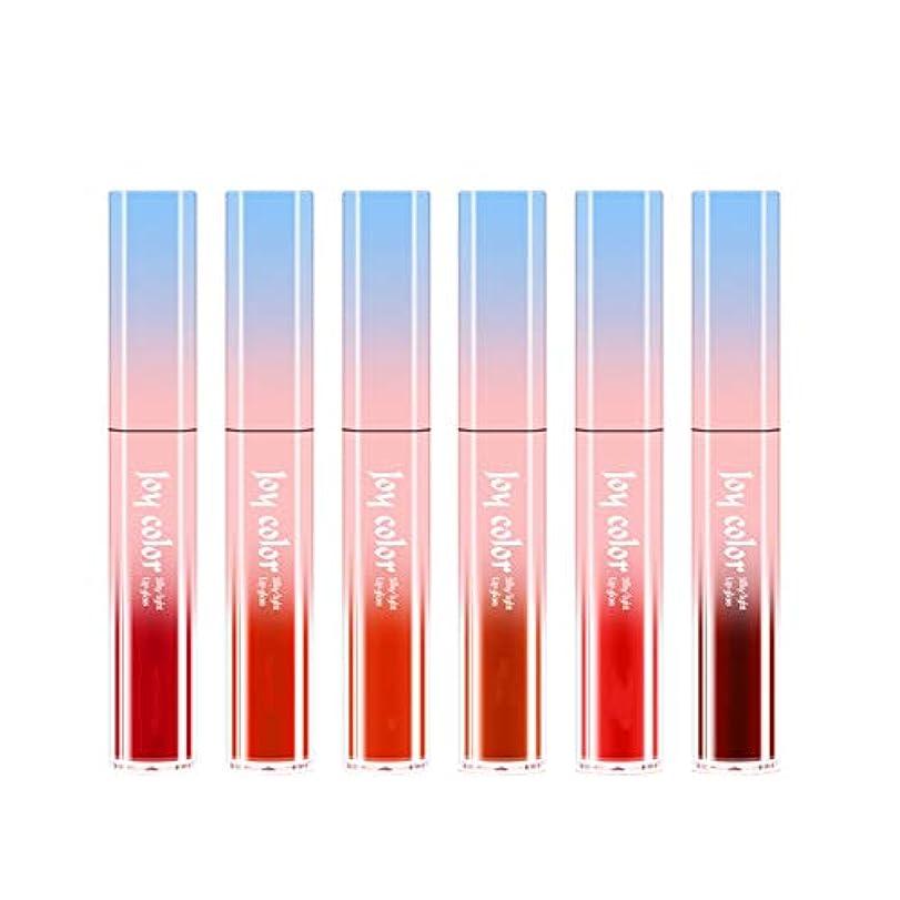 矢じり愛されし者約設定6ロング防水液体口紅液体リップグロスビロードの光栄養水分化粧品スキンケア