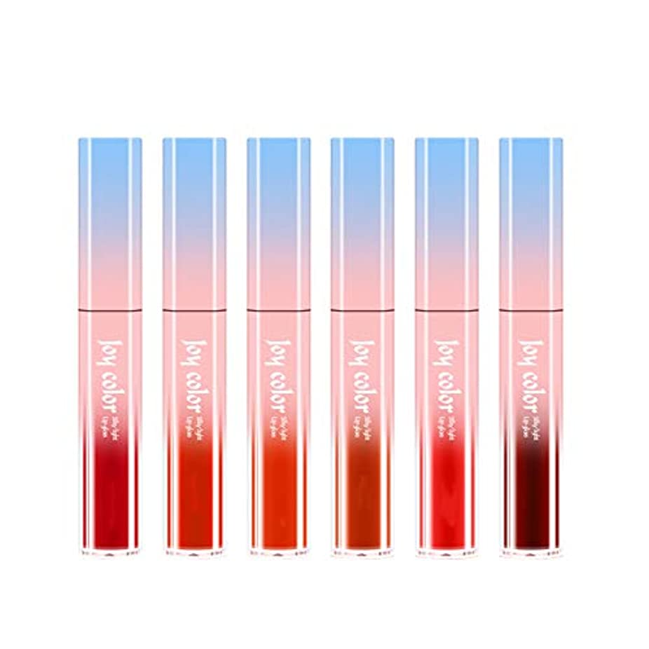 東方野ウサギ具体的に6ロング防水液体口紅液体リップグロスビロードの光栄養水分化粧品スキンケア