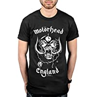 AWDIP Official Motohead England Everything Louder T-Shirt