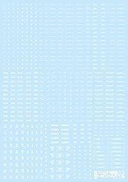 ハイキューパーツ 1/144 RB03 コーションデカール ワンカラーホワイト 1枚入 プラモデル用デカール RB03-144OWH