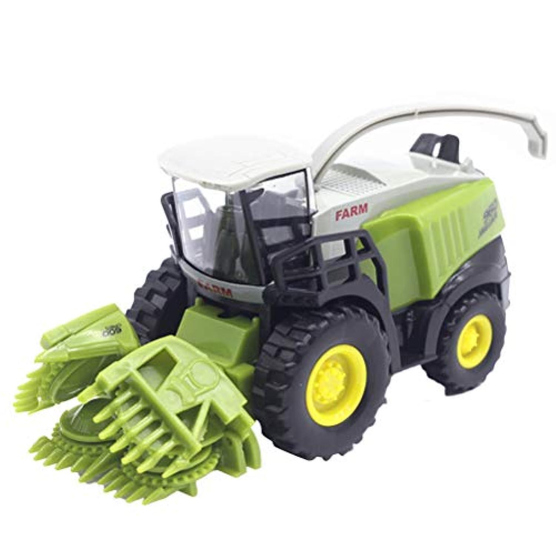 LIOOBO ミニカー おもちゃ 車 慣性 赤ちゃん ベビー 子供向け 農場車モデル収穫機 作業車 誕生日 入園祝い 贈り物 プレゼントギフト 知育玩具 早期開発