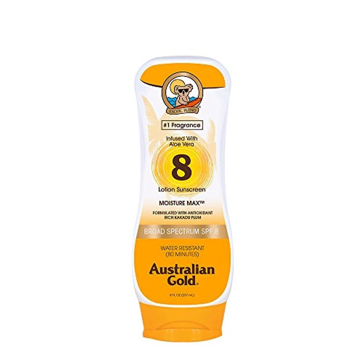 コインに応じて分析Australian Gold Lotion Sunscreen Broad Spectrum SPF 8 237ml/8oz並行輸入品