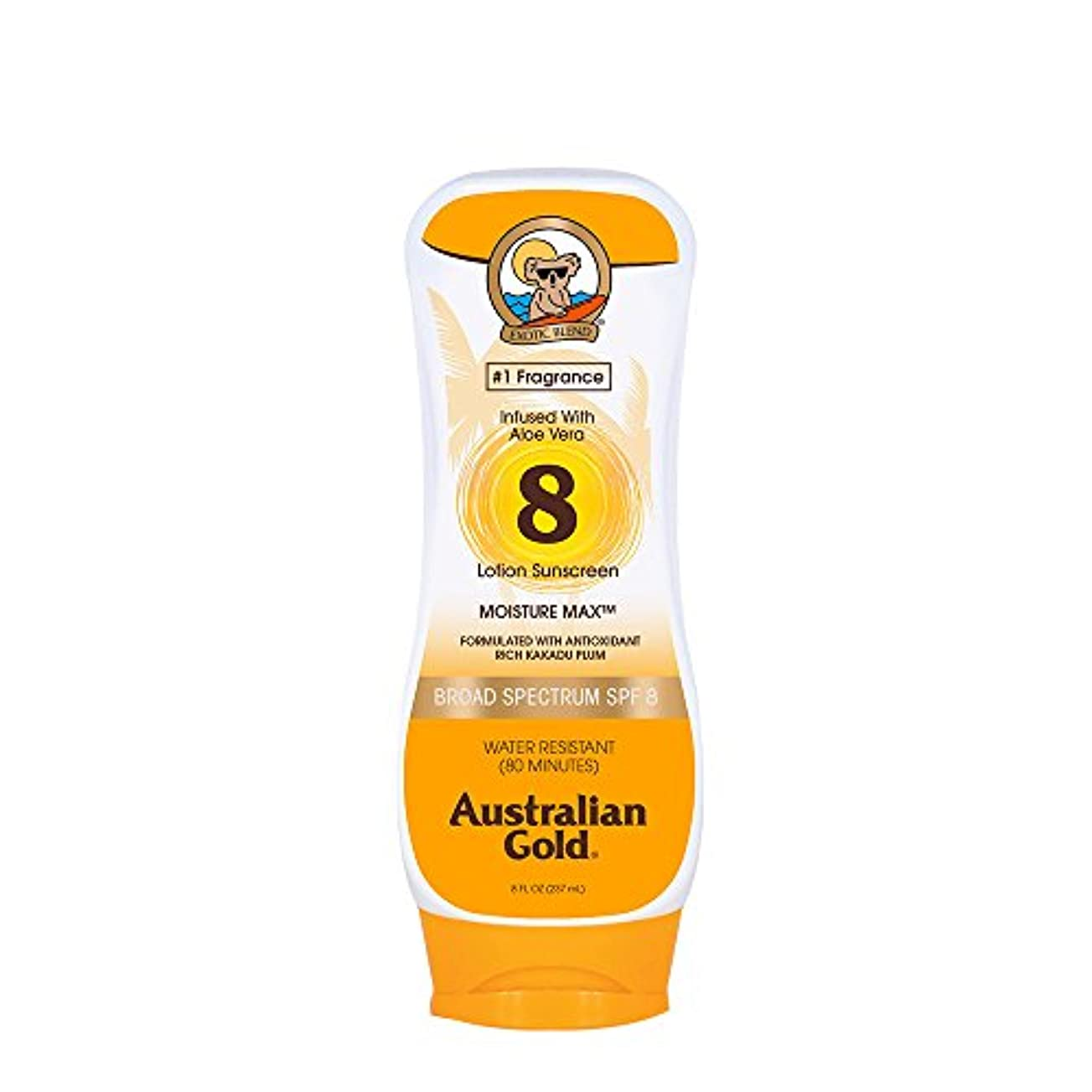 分離するユーザー配管Australian Gold Lotion Sunscreen Broad Spectrum SPF 8 237ml/8oz並行輸入品