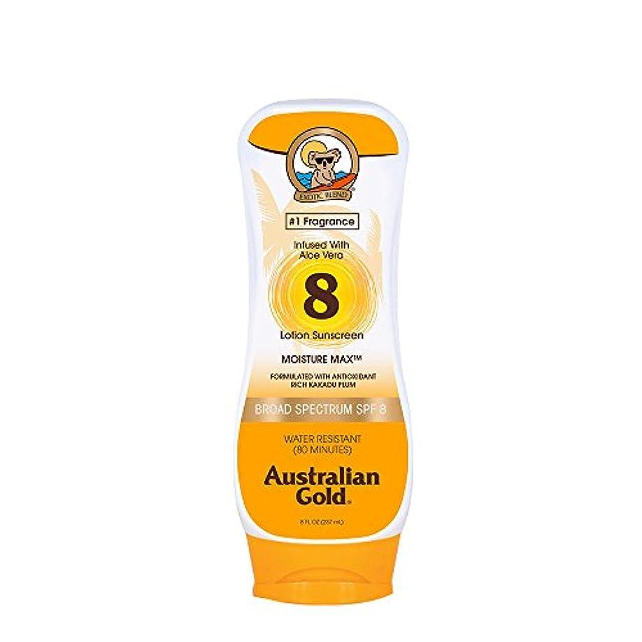 ハックホテル伝統Australian Gold Lotion Sunscreen Broad Spectrum SPF 8 237ml/8oz並行輸入品