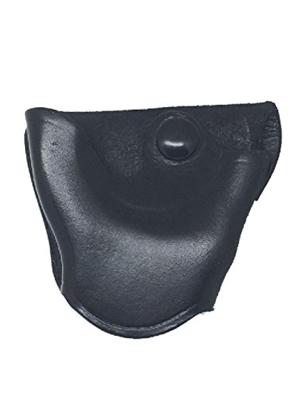 コンクリートワットアパートDesantis クイックリリース 警察 アンダーカバー ブラックレザー オープントップ 手錠ケース