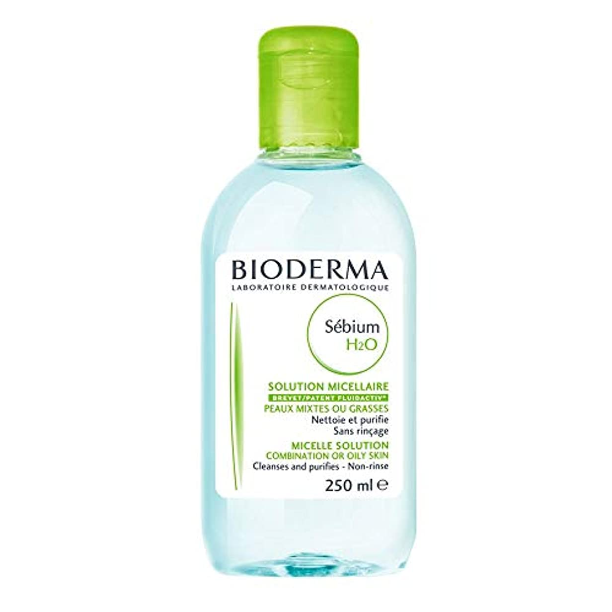 Bioderma - Sebium H2O Purifying Cleansing Micelle Solution (250 ml) [並行輸入品]