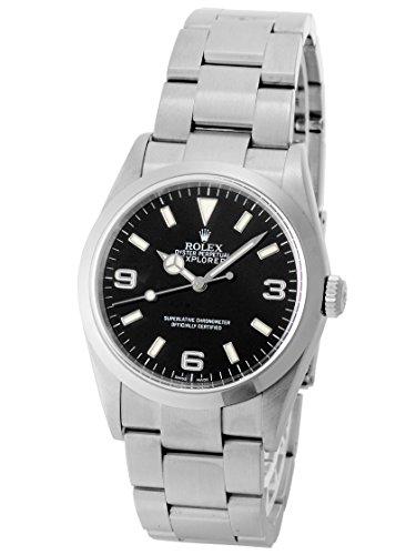 [ロレックス] ROLEX 腕時計 エクスプローラーI 114270 D番 SS 自動巻き 《生産終了モデル!》 [中古品] [並行輸入品]