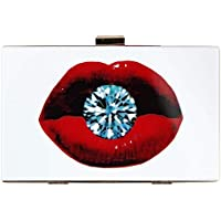 Acrylic Clutch Bags Floral Purse Perspex Bag Handbags Women Pearl Beaded Clutches