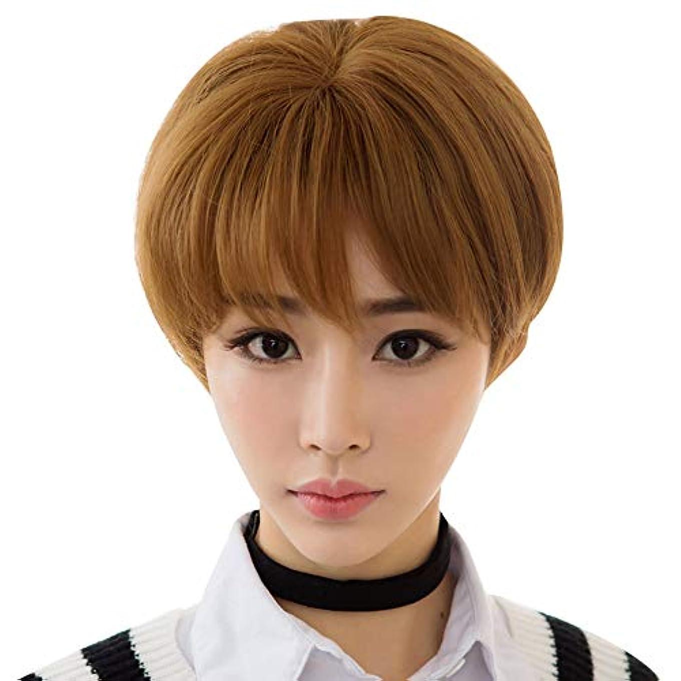 SRY-Wigファッション ショートボブウィッグショートストレートヘアウィッグ女性パーティーコスプレウィッグ用パーティークリスマスハロウィンコスチューム