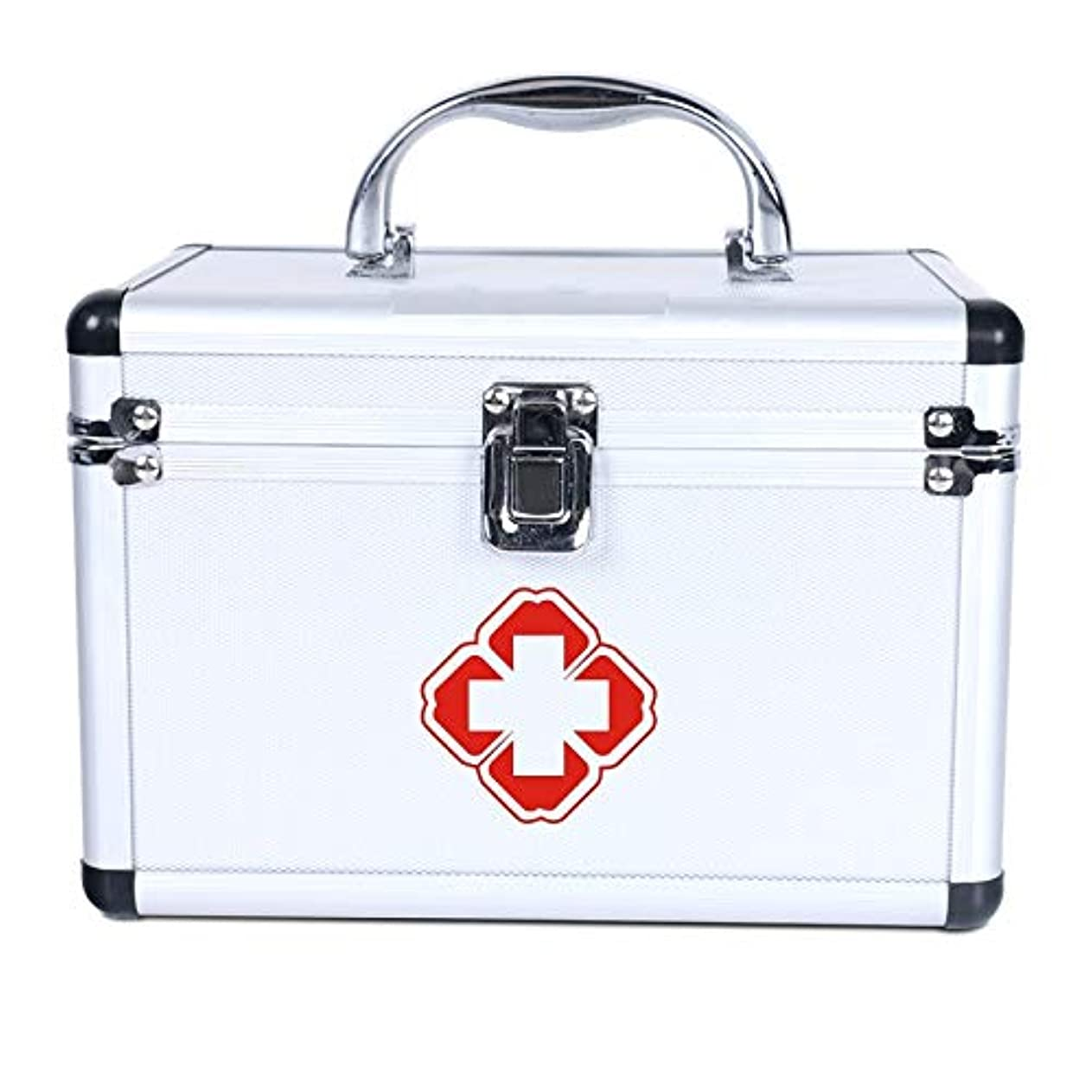 ちょっと待ってプレゼンテーション洗剤Xuping shop 医療収納ボックスの応急処置ボックス - 薬と処方箋の緊急キット収納ボックスをロックする