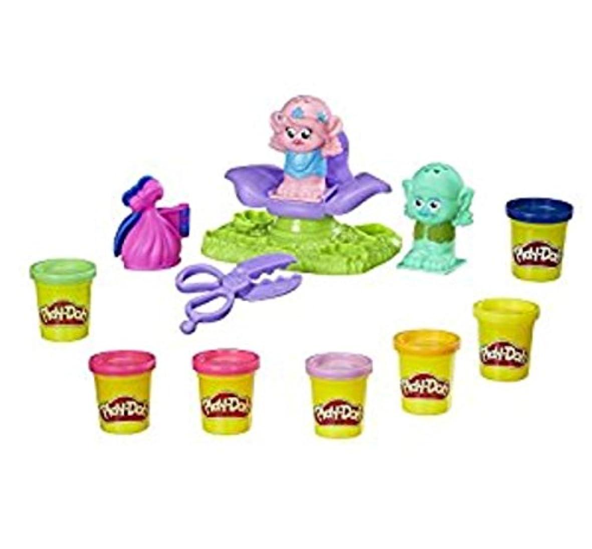 Dreamworks Trolls Play-Doh Press & Style Salon & Extra 4 Pack Play Doh Bundle