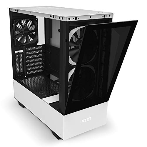 『NZXT H510 Elite 前面+側面ガラスパネル RGB LED発光&ファン制御機能搭載 [ White & Black ] CA-H510E-W1』の3枚目の画像