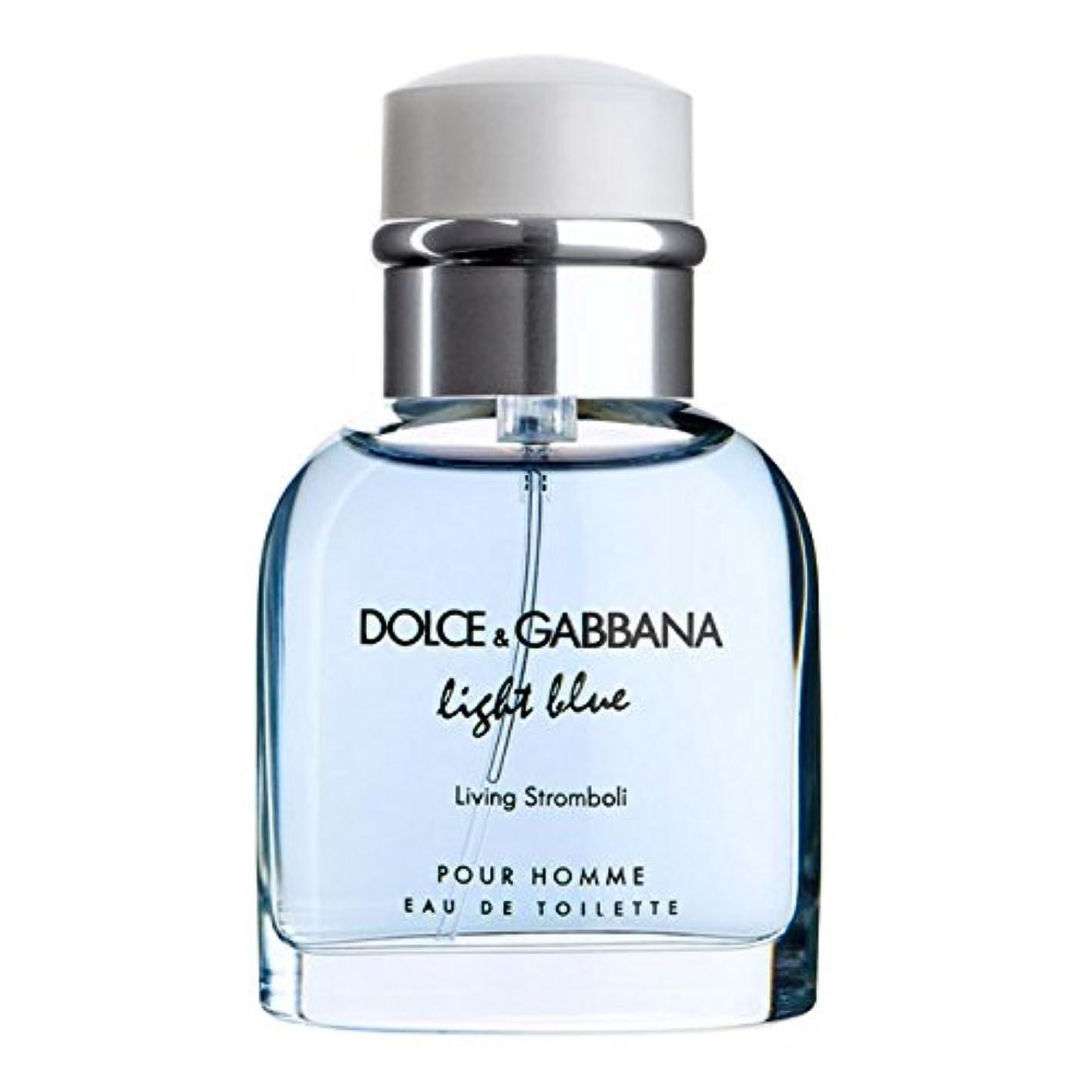 アルネ交通隣接するLight Blue Living Stromboli (ライトブルー リビングストロンボリ) 4.2 oz (126ml) EDT Spray by Dolce & Gabbana for Men