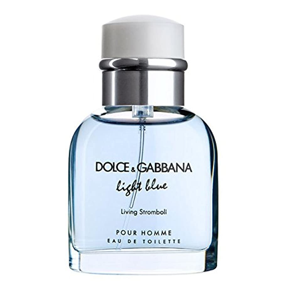 突然避ける花束Light Blue Living Stromboli (ライトブルー リビングストロンボリ) 4.2 oz (126ml) EDT Spray by Dolce & Gabbana for Men