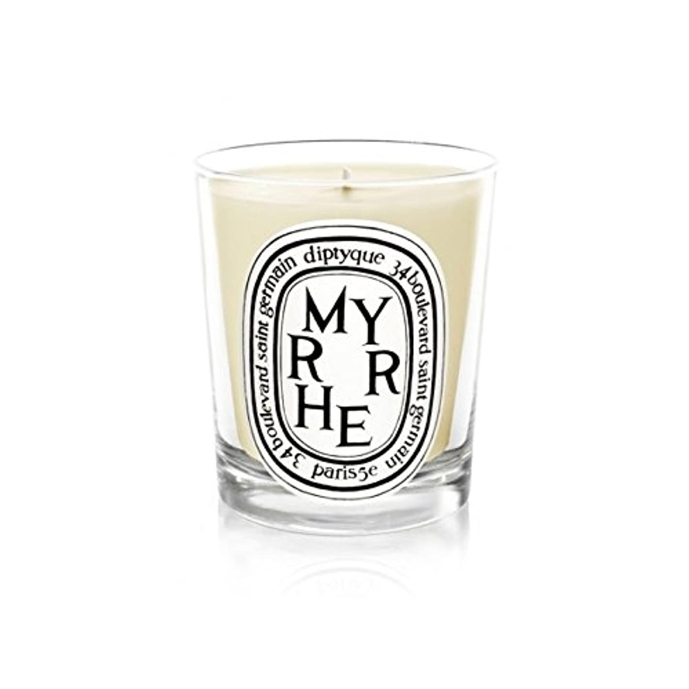がんばり続ける洋服成功Diptyque Candle Myrrhe / Myrrh 190g (Pack of 6) - DiptyqueキャンドルMyrrhe /ミルラの190グラム (x6) [並行輸入品]