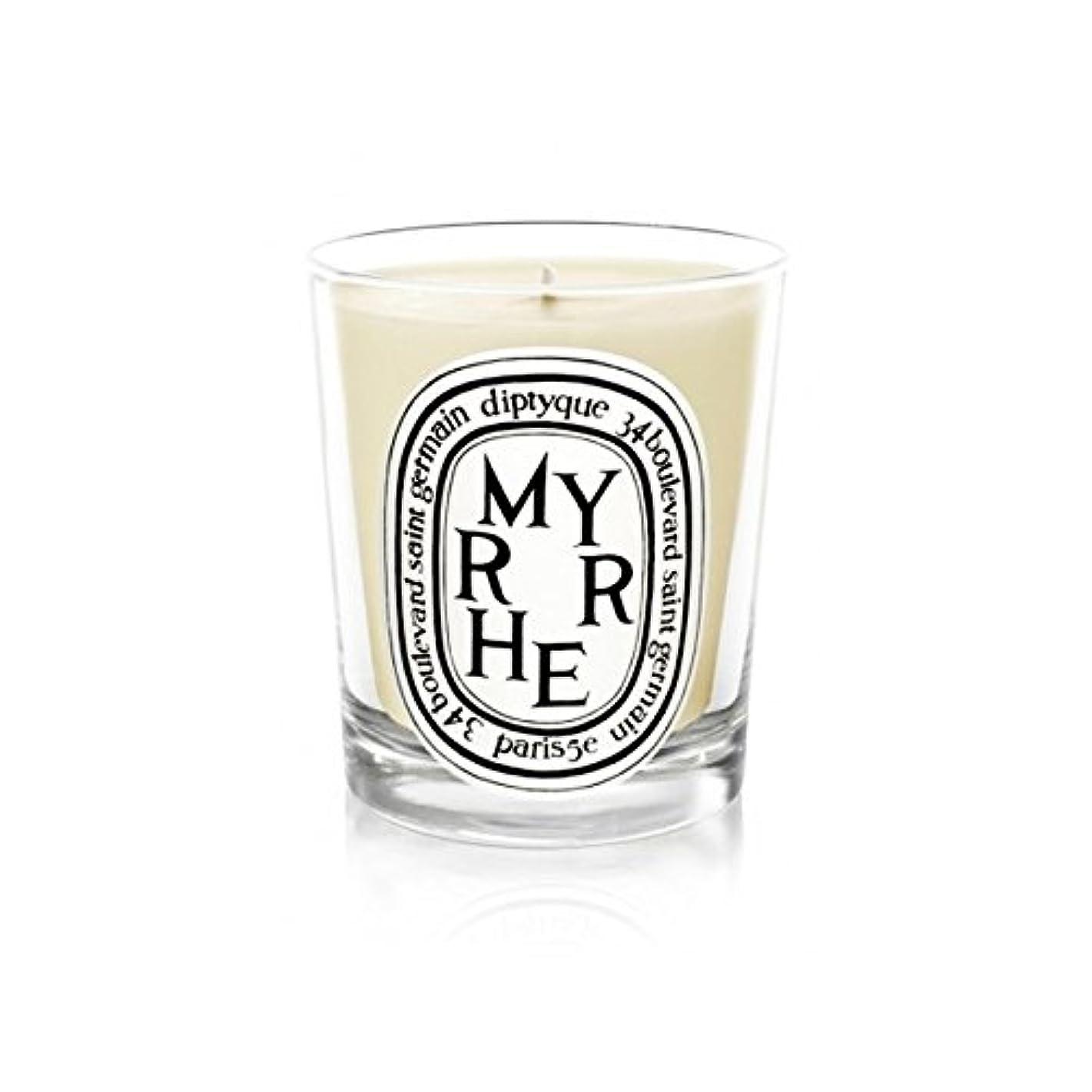 調整する通りそこDiptyque Candle Myrrhe / Myrrh 190g (Pack of 6) - DiptyqueキャンドルMyrrhe /ミルラの190グラム (x6) [並行輸入品]