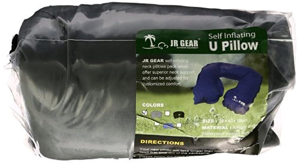 軽く遠征トリムJR GEAR(ジェイアール ギア) U Pillow SUP001 03/グレー