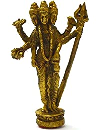 God of War Lord Murugan Muruga Kartikeya Skanda Hundu Blessed Mini真鍮Amuletペンダント