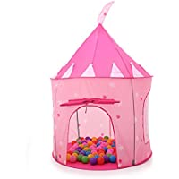Thee Princess Castle Play Tent折りたたみ式家おもちゃ