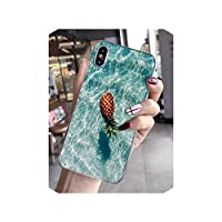 Zプラネット美しい海の波ソフトシリコーンTPU電話カバーに対応 iphone X XS最大6 6 s 7 7プラス8 8プラス5 5 s SE XR-inハーフ,For に対応 iphone XS MAX,A8