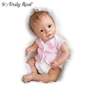 Linda Murray Little Angel: So Truly Real Lifelike Baby Doll by Ashton Drake ドール 人形 フィギュア(並行輸入)