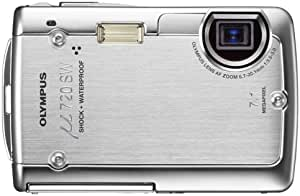 OLYMPUS デジタルカメラ μ720SW シャイニーシルバー μ720SWSLV