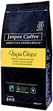 JASPER COFFEE Fairtrade Organic PNG Okapa, 250 Grams