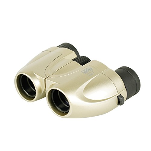 双眼鏡 コンサート用 CERES(セレス) 8X21 CF-S ポロプリズム式 8倍 21口径 レンズクロス付属 シャンパンゴールド CR01