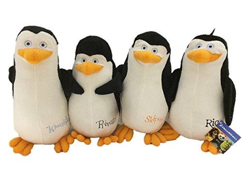 マダガスカル豆ソフトおもちゃコンプリートコレクションのペンギン