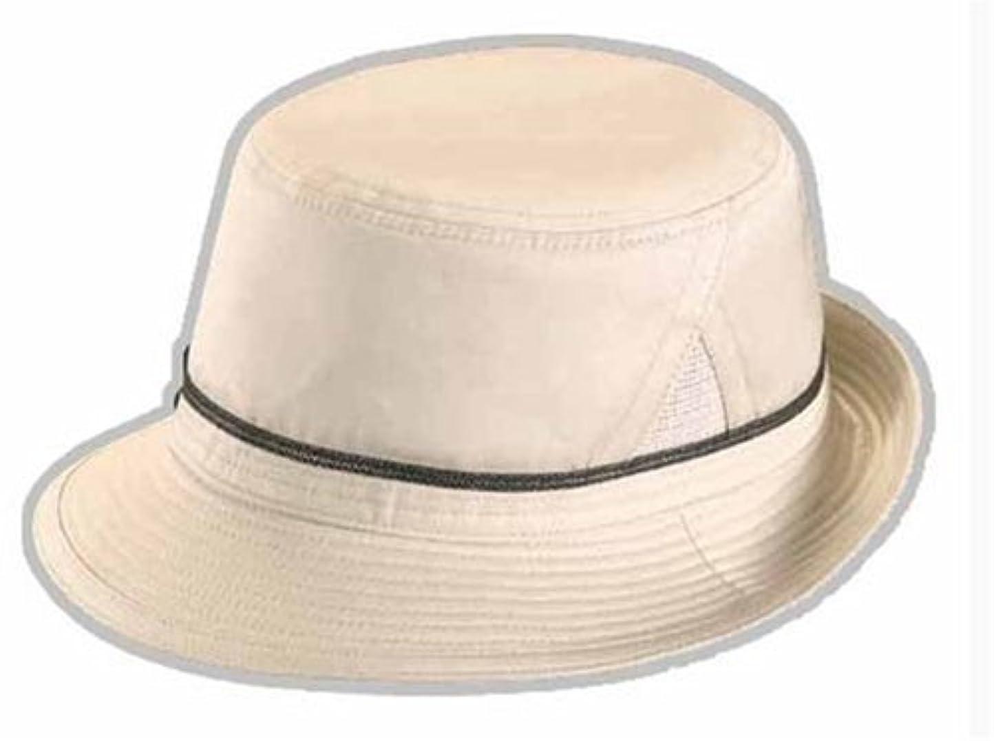 秋番号素晴らしいです涼感加工のアルペン帽子 グレー L