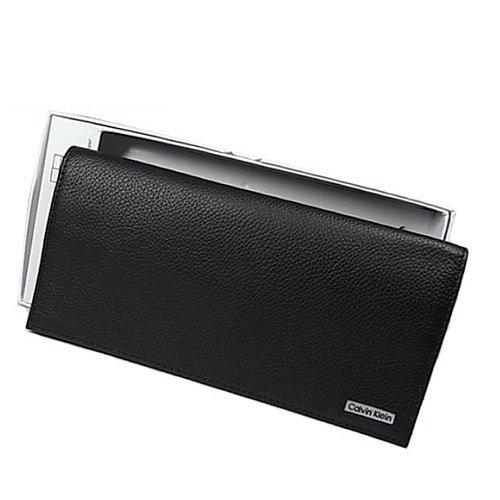 CalvinKlein  カルバンクライン メンズ 長財布 ブラック 79219 メンズ ブランド 並行輸入品
