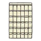 GORBAST 小物収納 透明 ウォール 多機能壁掛け式 カレンダーポケット 吊り下げ 収納 (36格, 05)