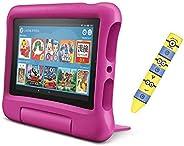 Fire 7 タブレット キッズモデル ピンク 16GB + ミニオンタッチペン
