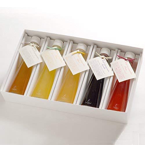 銀座のジンジャー 定番 5本セット(プレーン、柚子、レモン、ブルーベリー、苺)まとめてお得 2箱[計2,000ml]ジンジャーシロップ・ギフトボックス